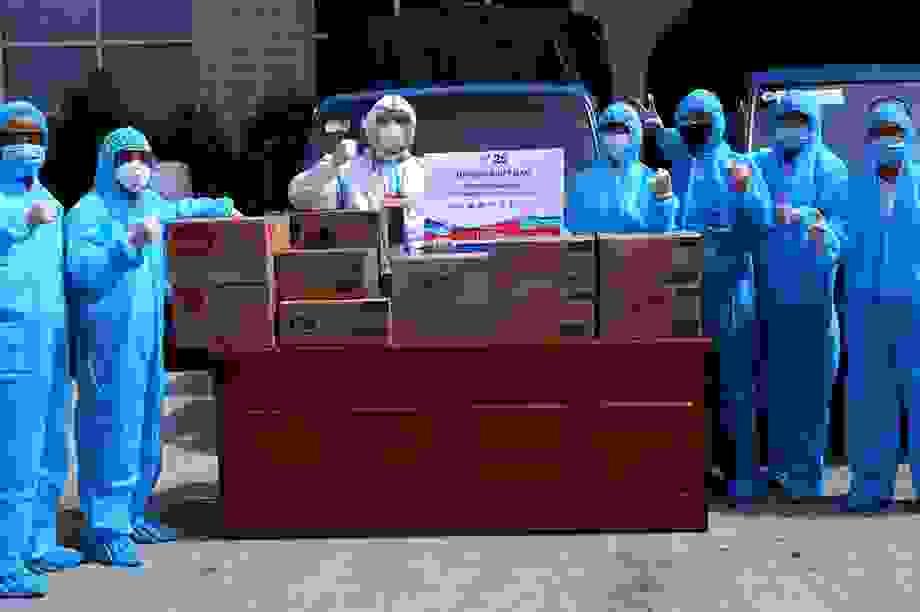 Unilever tăng cường gói tài trợ Đà Nẵng, Quảng Nam và Quảng Ngãi phòng chống dịch