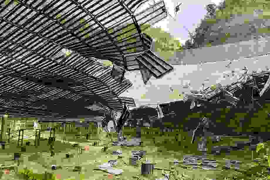 Đài quan sát lớn thứ 2 thế giới bị hư hại nghiêm trọng
