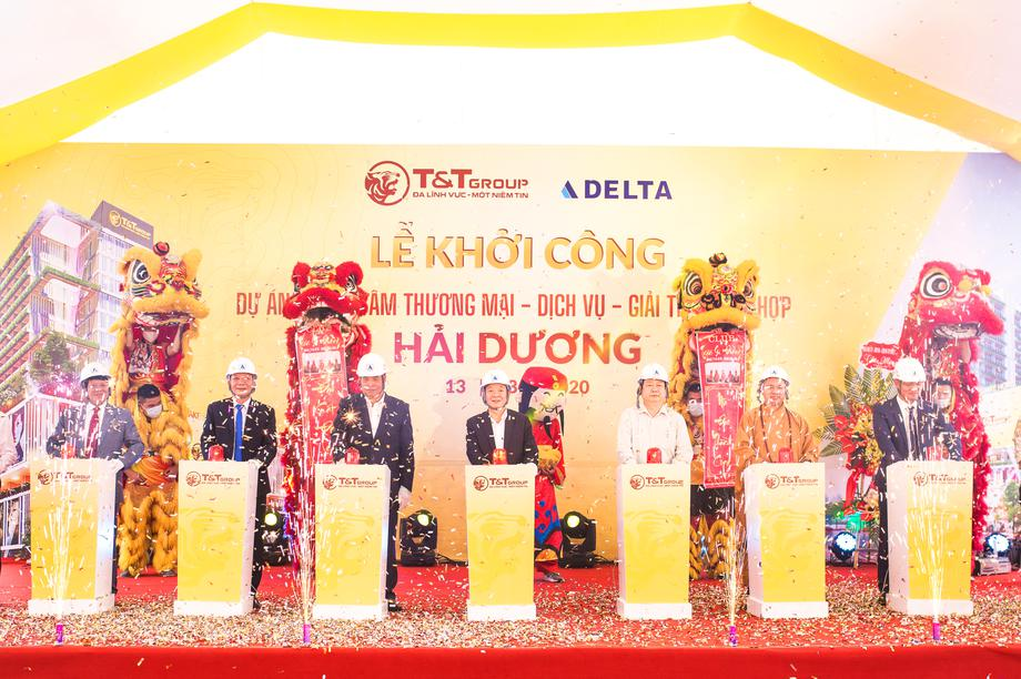 T&T Group khởi công xây dựng Trung tâm thương mại tại thành phố Hải Dương