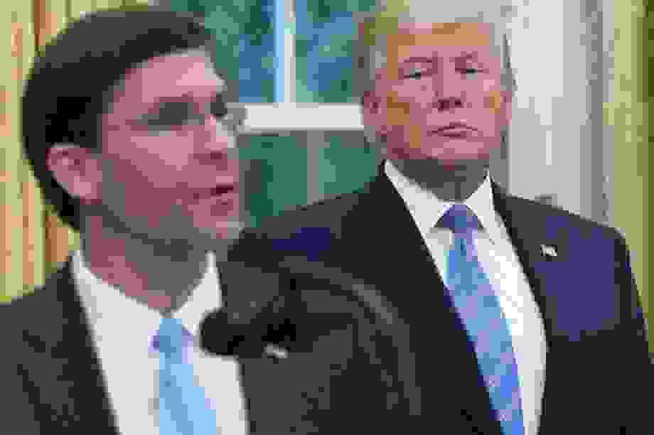 Bloomberg: Tổng thống Trump tính thay Bộ trưởng Quốc phòng