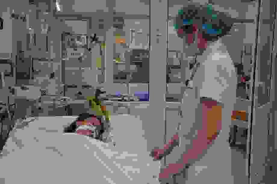 Xót xa sản phụ bất ngờ sinh tại bệnh viện Bệnh Nhiệt đới Trung ương