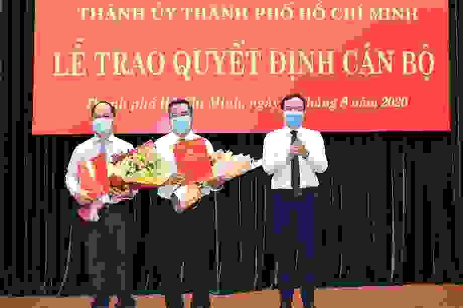 TPHCM tiếp tục điều động, bổ nhiệm nhiều nhân sự