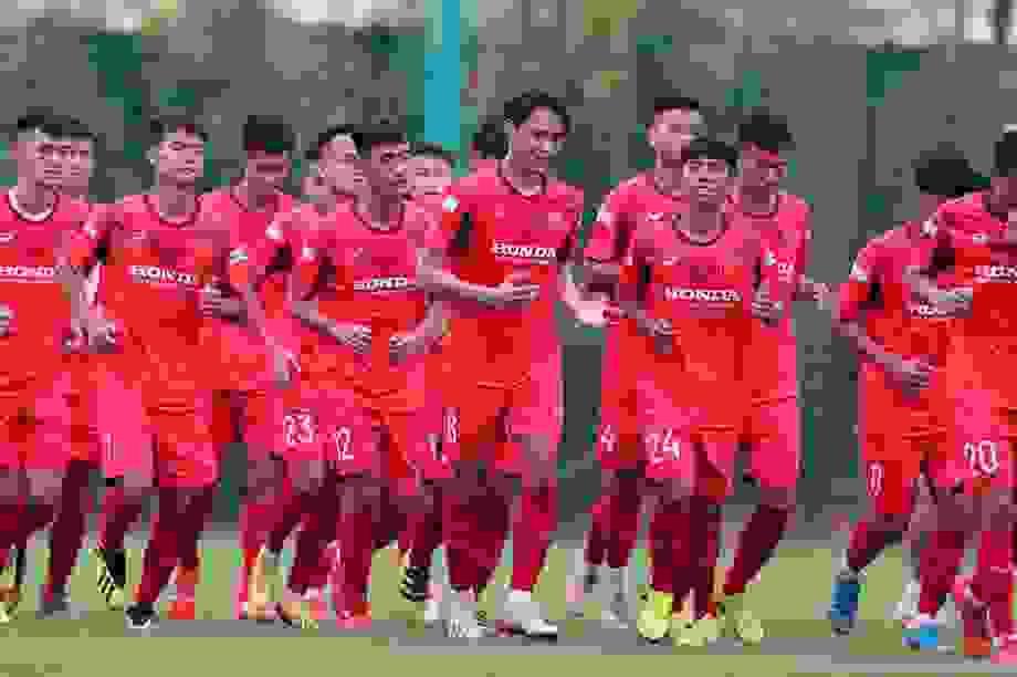 HLV Park Hang Seo gọi 48 cầu thủ U22 Việt Nam chuẩn bị cho SEA Games
