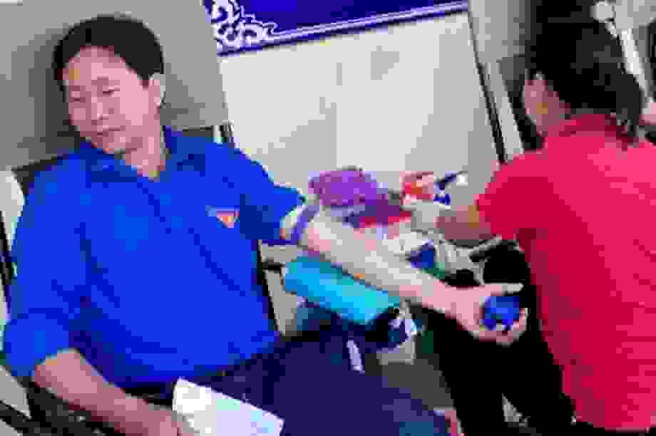 """Bí thư Đoàn thanh niên trung tâm y tế """"ghiền"""" hiến máu tình nguyện"""