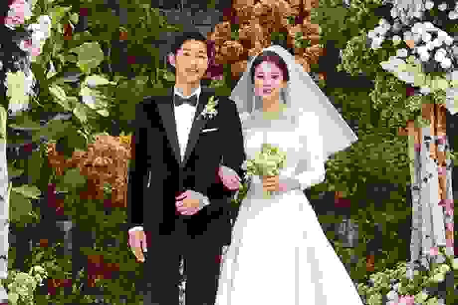 Những cô dâu đẹp và quyến rũ nhất làng giải trí xứ Hàn
