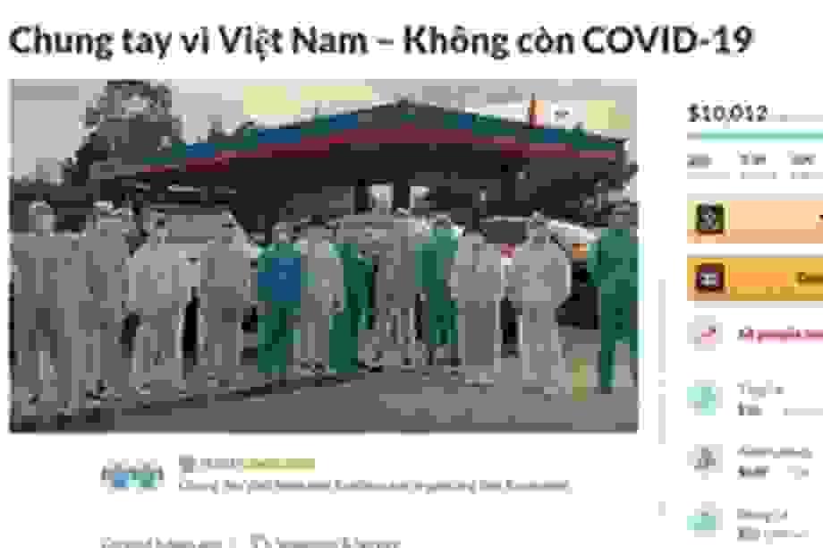 """Cộng đồng người Việt khắp thế giới """"Chung tay vì Việt Nam"""" đẩy lùi Covid-19"""