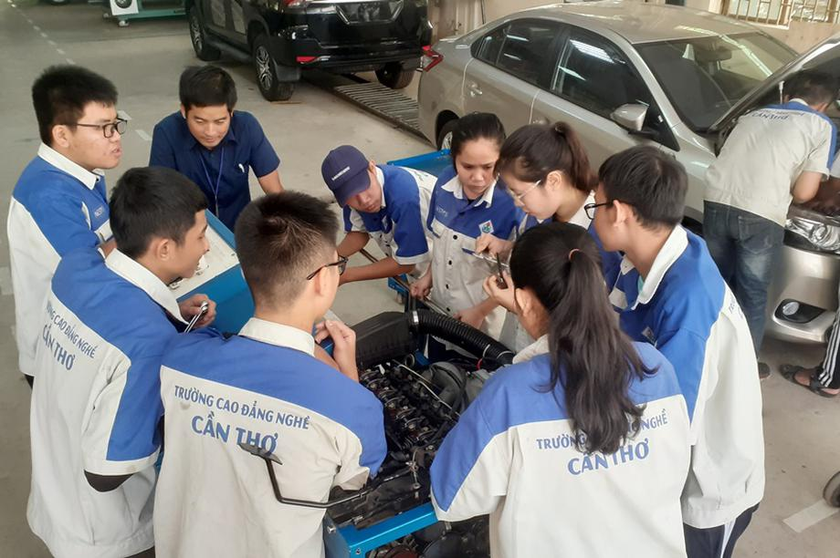 Đa dạng ngành nghề đào tạo, học viên có nhiều cơ hội chọn nghề