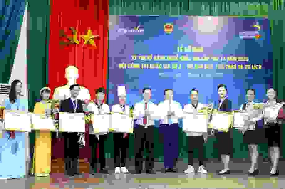Trao 3 huy chương vàng tại Hội đồng thi kỹ năng nghề số 2