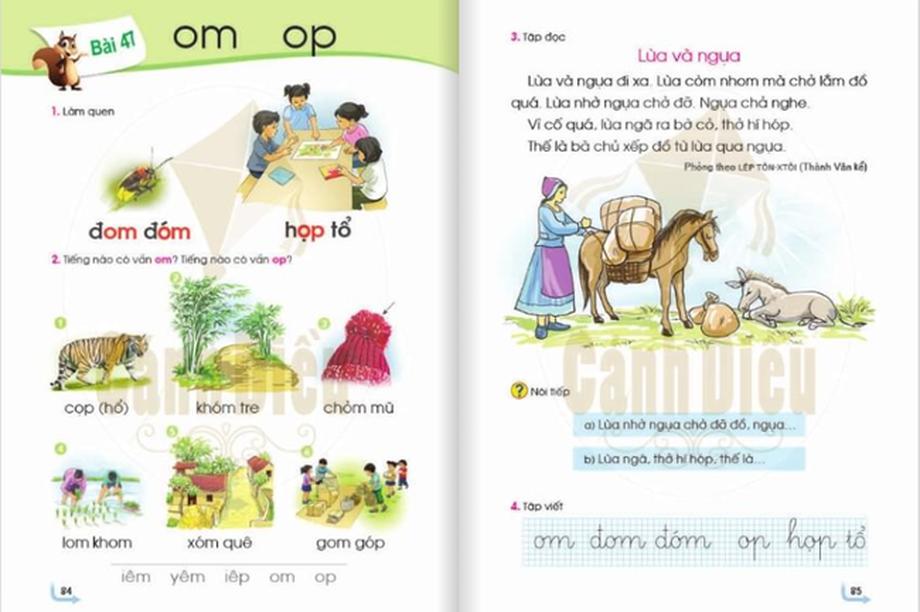 Xin những nhà biên soạn sách giáo khoa đặt mình vào con trẻ