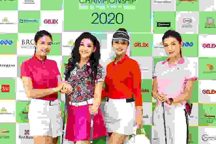 Nhiều hoa hậu Việt Nam tham dự Tiền Phong Golf Championship 2020