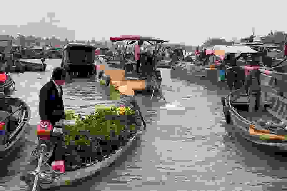 Trên 70% khách du lịch đến Cần Thơ đã tham quan chợ nổi Cái Răng