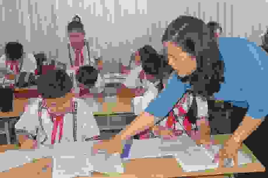 """Cô giáo Minh Thùy: """"Tôi luôn đặt tình yêu thương học sinh lên hàng đầu"""""""