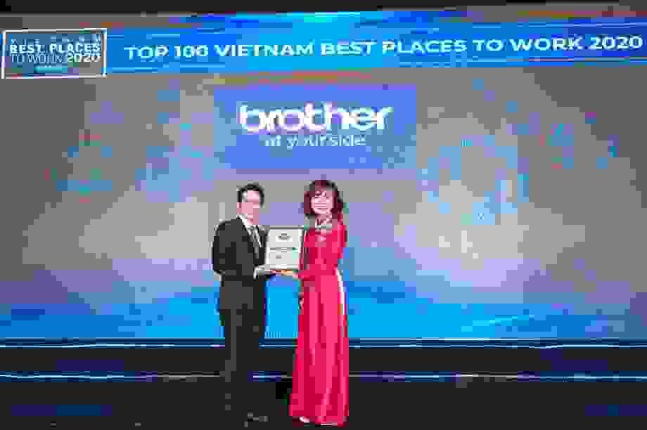 Brother International Việt Nam vào top 100 nơi làm việc tốt nhất năm 2020