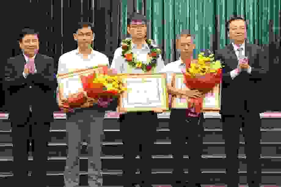 TPHCM: Học sinh đoạt HC BạcOlympic Toán quốc tế được thưởng 150 triệu đồng