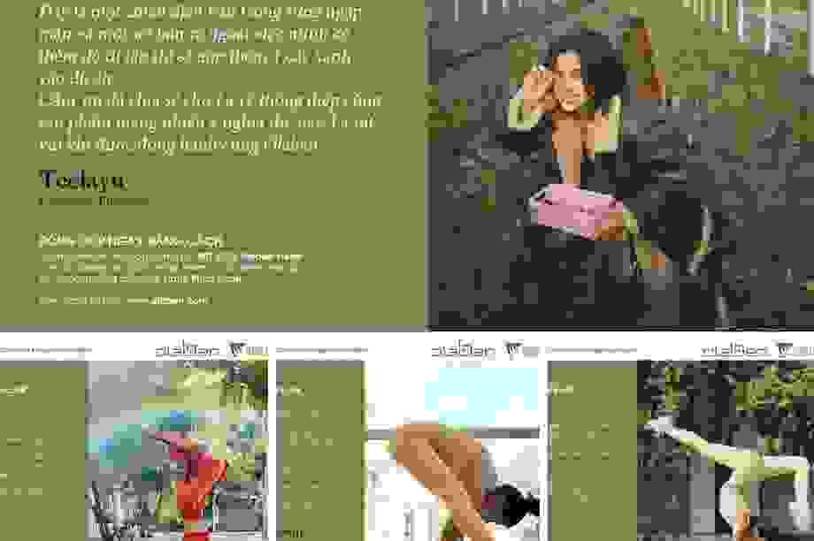 Olaben: thương hiệu đồ tập cao cấp đang được nhiều sao Việt ưa chuộng