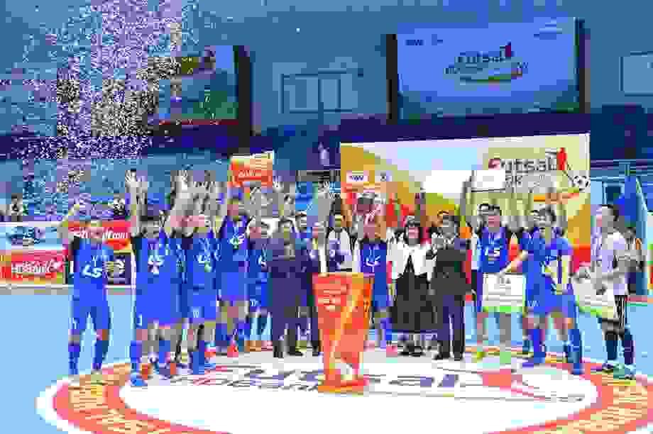 Thái Sơn Nam đoạt cúp futsal quốc gia 2020